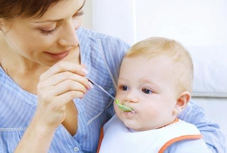 Схема кормления ребенка – с 3