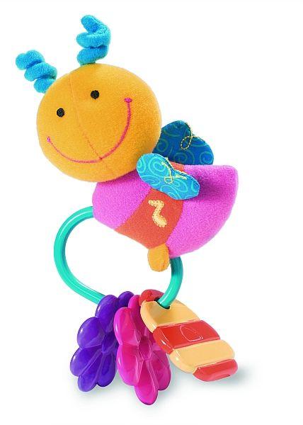 Первые игрушки малыша - погремушки