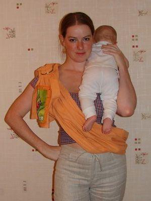 Как одевать слинг, инструкция