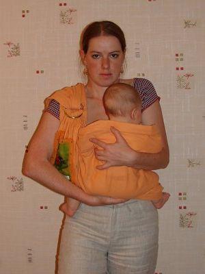Как одевать слинг, по шагово расписано