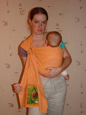 Как одевать слинг - фото