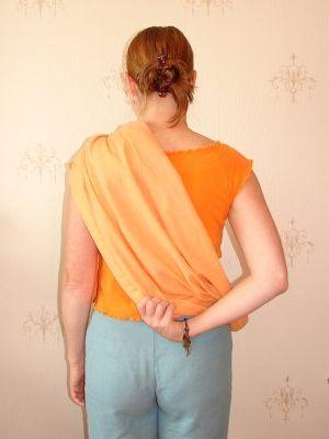 как правильно одевать слинг