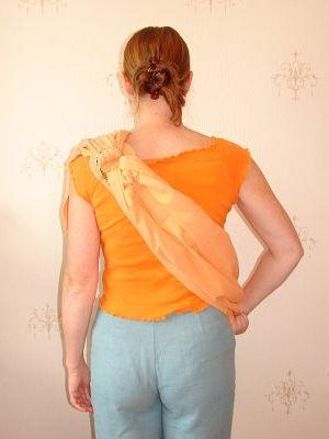 как правильно одевать слинг - в картинках