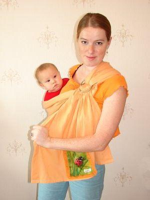 как правильно одевать слинг - описание с картинками