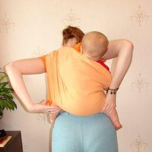 как правильно одевать слинг - подробно