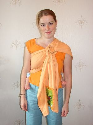 как правильно одевать слинг - учимся вместе