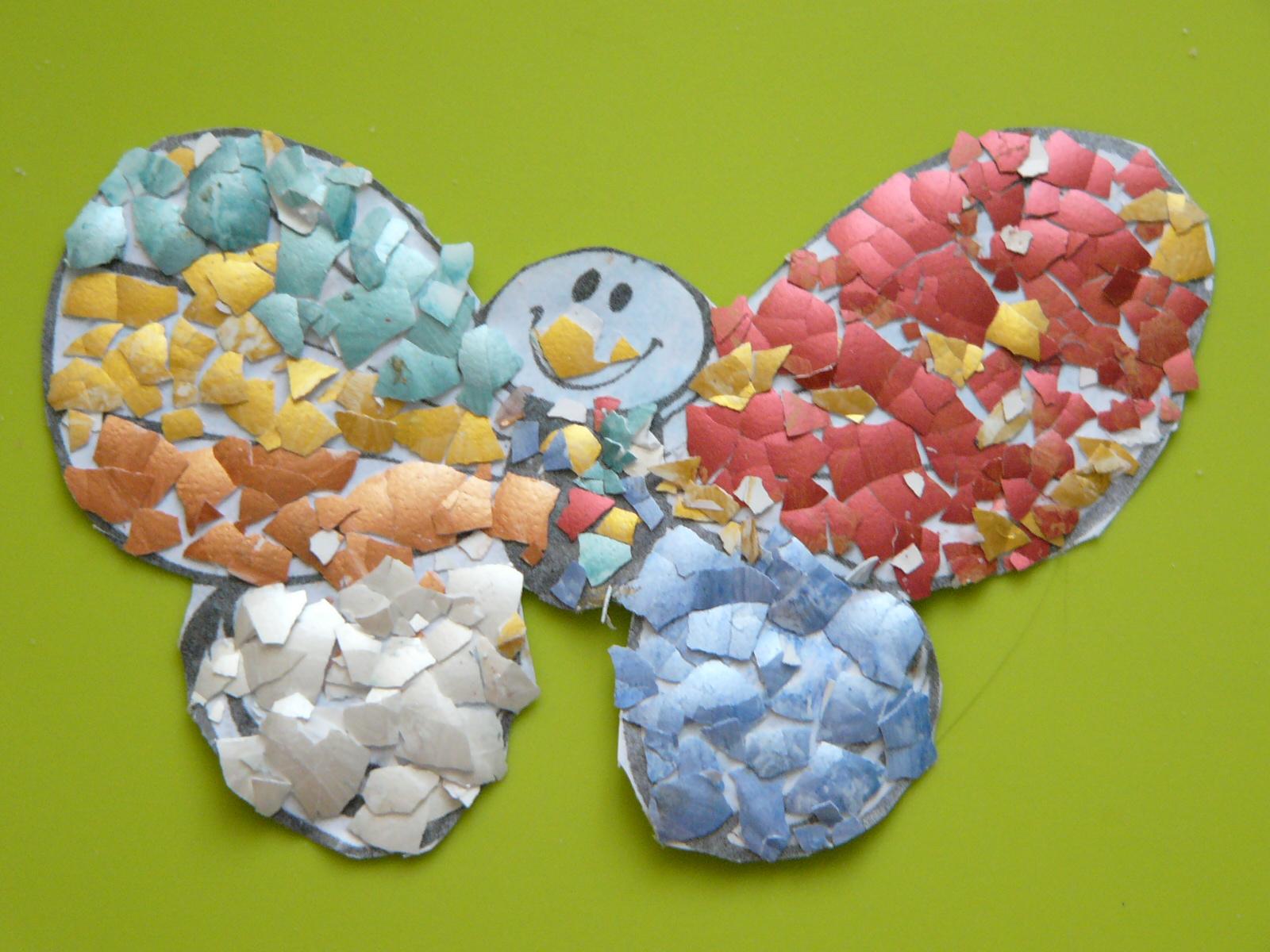 Мозаика для детей мастер-класс