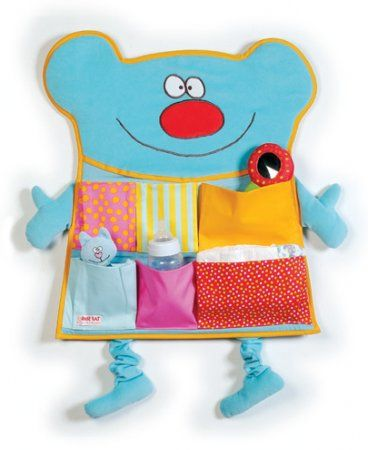 Карманы для игрушек на кроватку своими руками