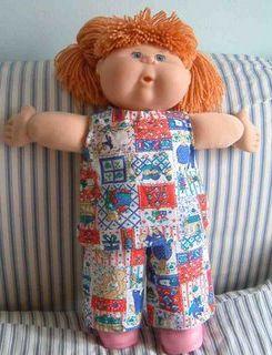 мягкие игрушки - кукла