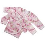 Удобная кофточка-распашонка в виде кимоно на клепках. С длинным руковом