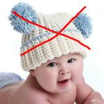 Красивая шапочка, подходящая только для фотосессий. Без завязочек