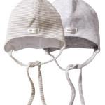 Удобная шапочка на завязках