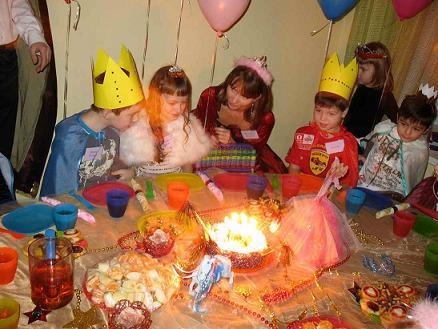 сценарий дня рождения принцессы