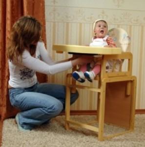 детский стульчик - что купить для новорожденного