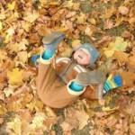 приколы с детьми осенью