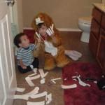 дети и мамины прокладки