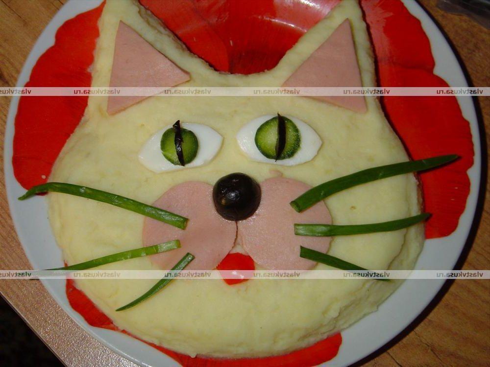 как украсить детские блюда