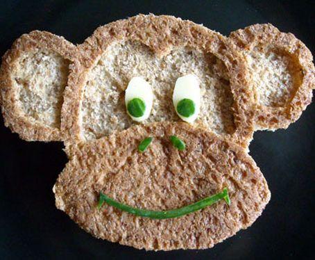 Симпатичные бутерброды и другие вкусности