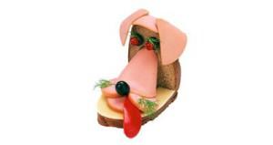 украшаем бутерброды детям