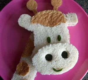 как сделать бутерброд ребенку