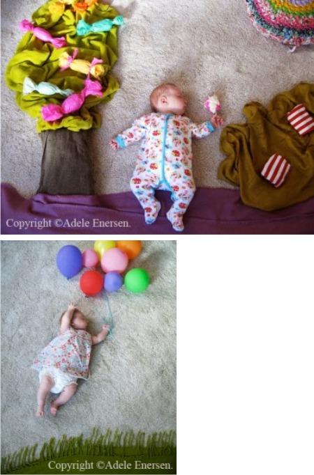 картины с новорожденным