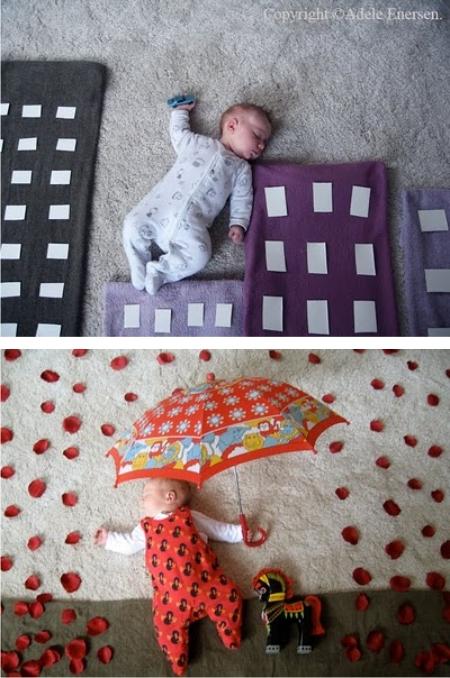 как фотографировать новорожденных