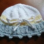 вязанная шапочка для детей