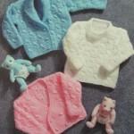 Что связать новорожденному - кофточки