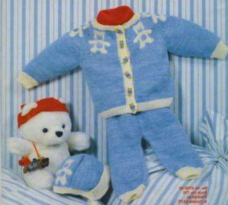 Вязанные шапочки для новорожденных с