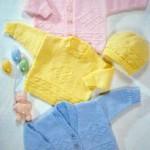 Что связать новорожденному