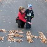 осенние прогулки с детьми
