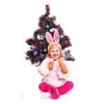 костюм кролика для девочки