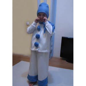 Костюм снеговика выкройка своими руками фото