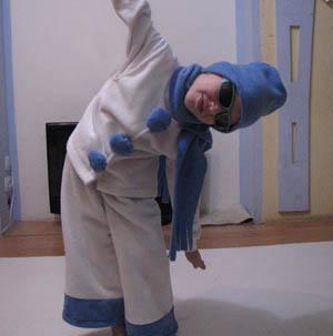 Шьем костюм снеговика своими руками