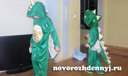 костюм дракона мастер класс с выкройками