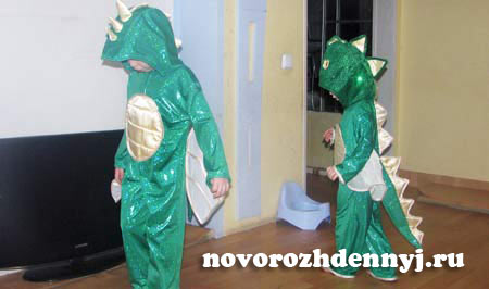 Костюм дракона мастер класс с