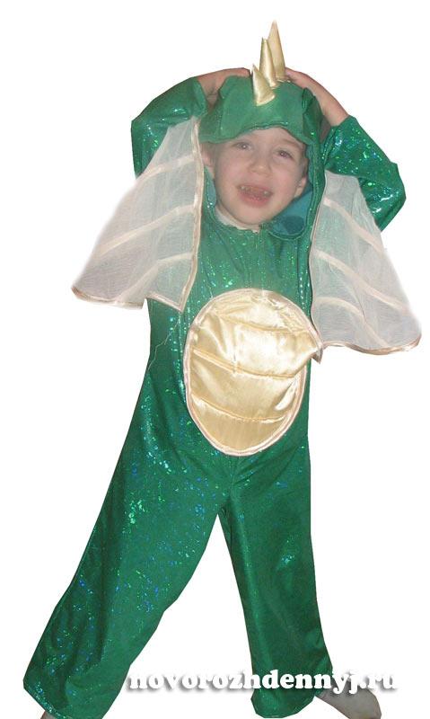 Как пошить детский новогодний костюм Дракона - выкройка и советы Милочка