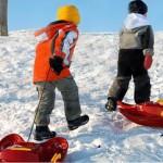 игры зимой для детей