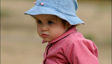 необщительный ребенок