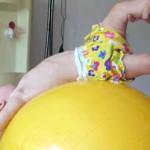 Массаж, гимнастика ребенка 9 месяцев