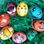 варианты украшения яиц