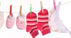 стирка одежды новорожденного