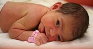 волосы на теле новорожденного
