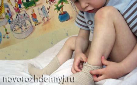 учим ребенка одеваться самостоятельно