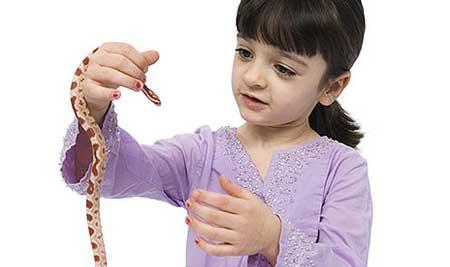 что делать если ребенка змея укусила