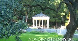 путешествие в парке парадиз Крым