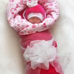"""Зимний набор """"Принцесса"""", для новорожденной девочки: одеяло с ленточкой. Автор фото: Nola_Burg"""