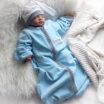 Голубой комплект для мальчика на весну или осень. Автор фото: Nola_Burg