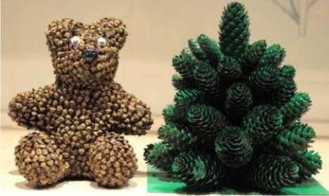 Поделки своими руками лес