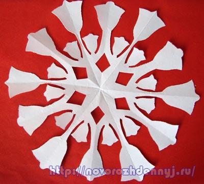 Снежинки из бумаги схемы, чертежи - готовые для распечатки